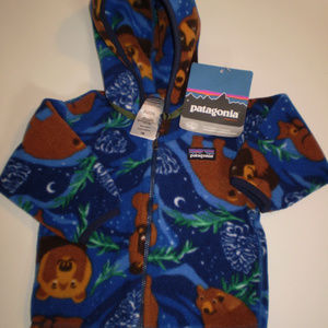 Patagonia Baby Synch Cardigan Baby Jacket Size 6 M
